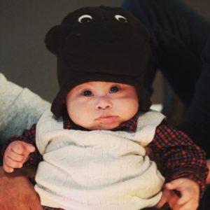 Everett as a baby