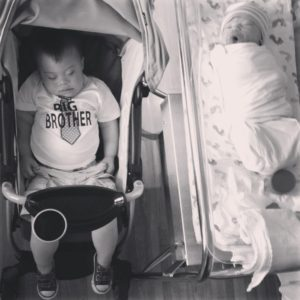 Everett and Liam
