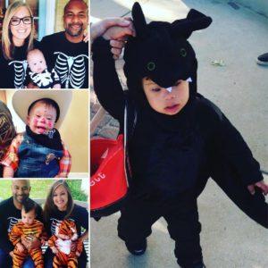 Everett's halloween costumes