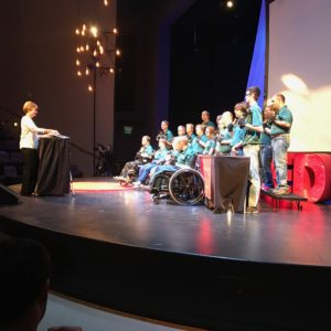 "Photo of Abilene Disability Resources ""Bell Peppers"" hand bell choir. They rocked!"
