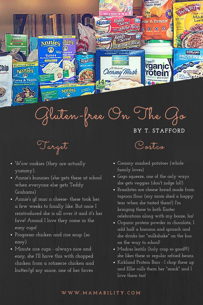 How to Go Gluten-Free on the Go!
