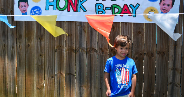 The Drive-by Birthday Party – A trend I hope sticks around!