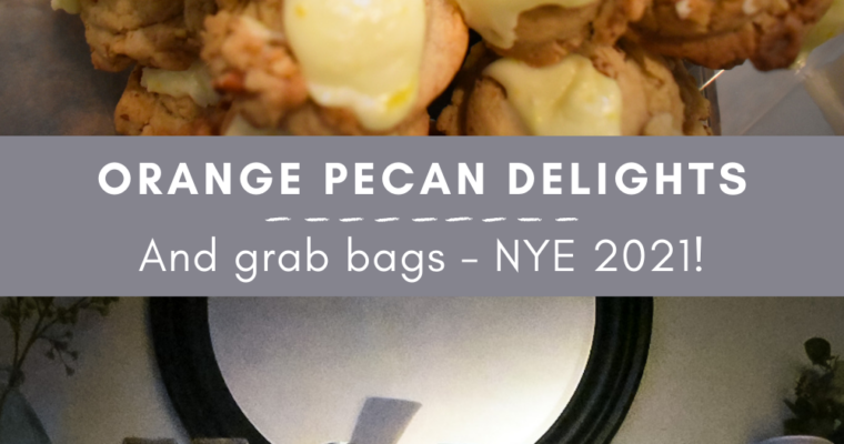 Orange Pecan Delights for New Year's Eve